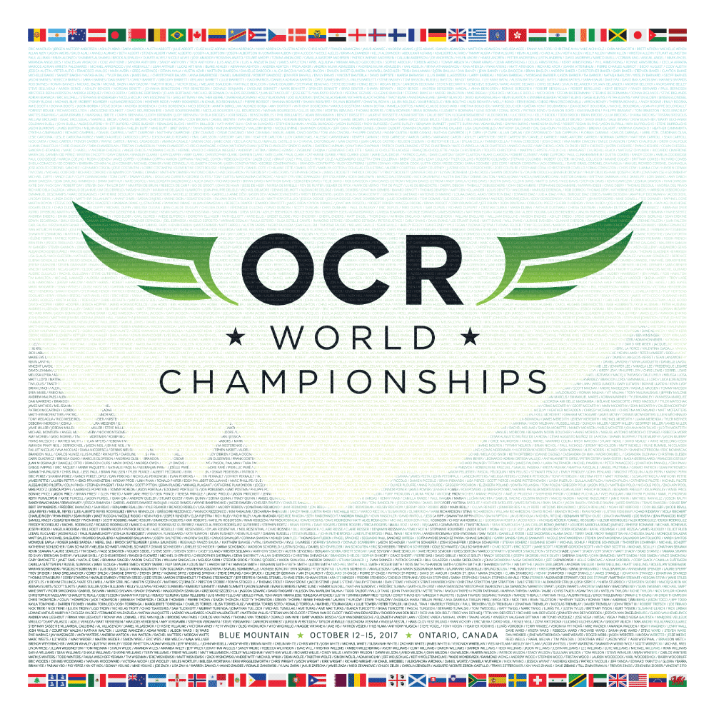 OCR World Champs 2017 Poster